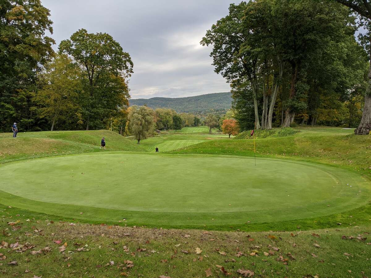 The 17th was the signature hole at the Wyantenuck Country Club, a Great Barrington, Mass., where Tom Sullivan was head pro for 21 years before his tragic death Oct. 7, 2020. (Pete Dougherty / Times Union)