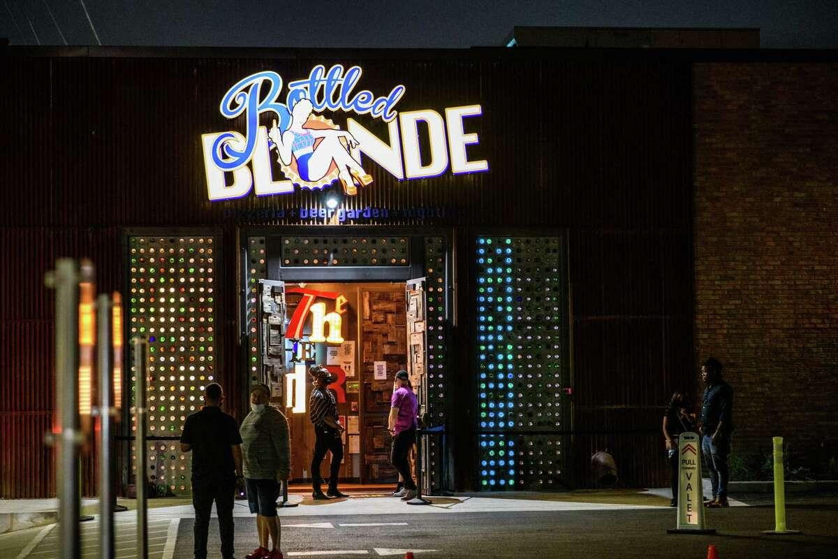 Bottled Blonde on Washington Ave, Saturday, October 3, 2020