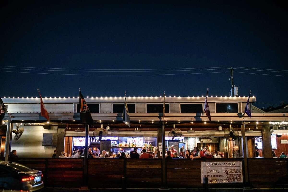 Fuego's Saloon on Durham Drive, Saturday, October 3, 2020