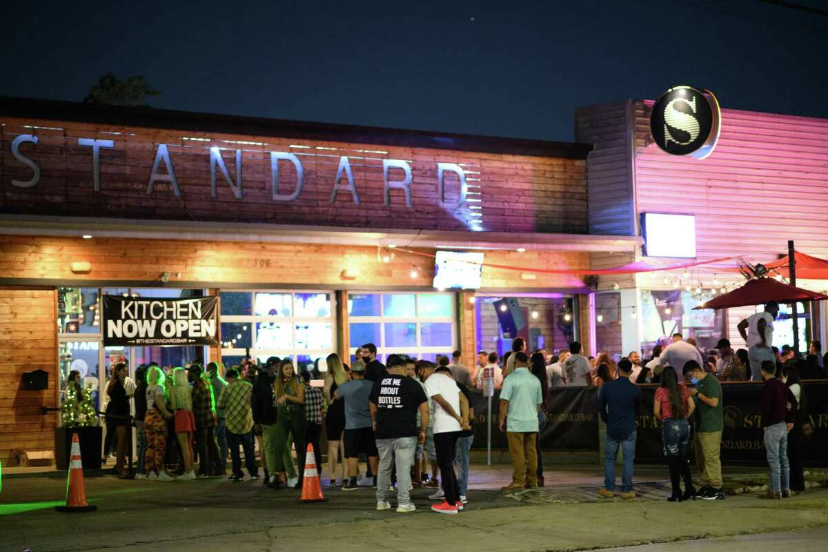 The pandemic didn't scare away crowds Saturday from The Standard on Washington Avenue.