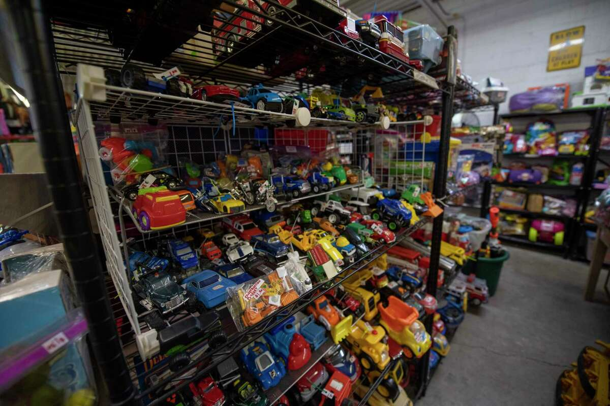 Items available at the Texas Size Garage Sale as seen Wednesday, Oct. 7, 2020 at 407 E. Scharbauer Drive. Jacy Lewis/Reporter-Telegram