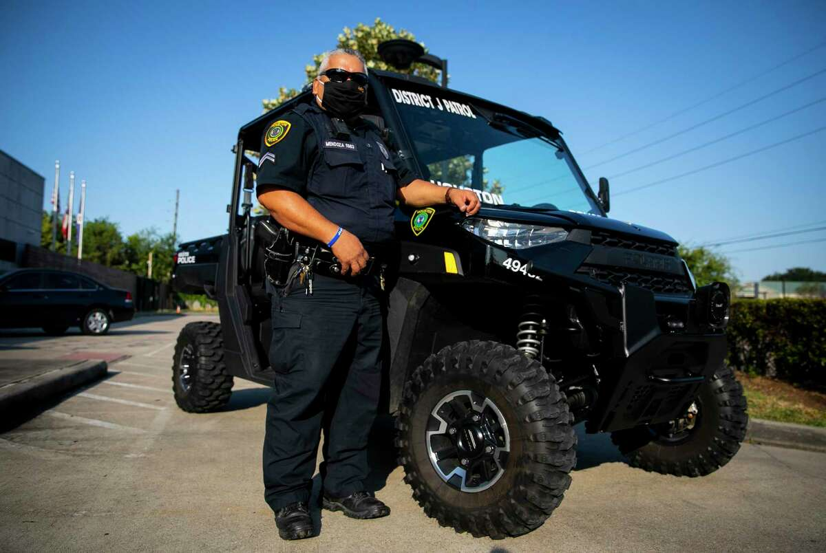 HPD Officer Daniel Mendoza said he thinks the ATV will help him be more accessible to the residents he encounters.