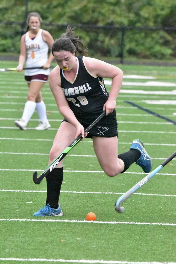 Junior Megan Smith was a standout in the Eagles' second victory of the season. Photo: Trumbull Athletics / Contributed Photo / Trumbull Times