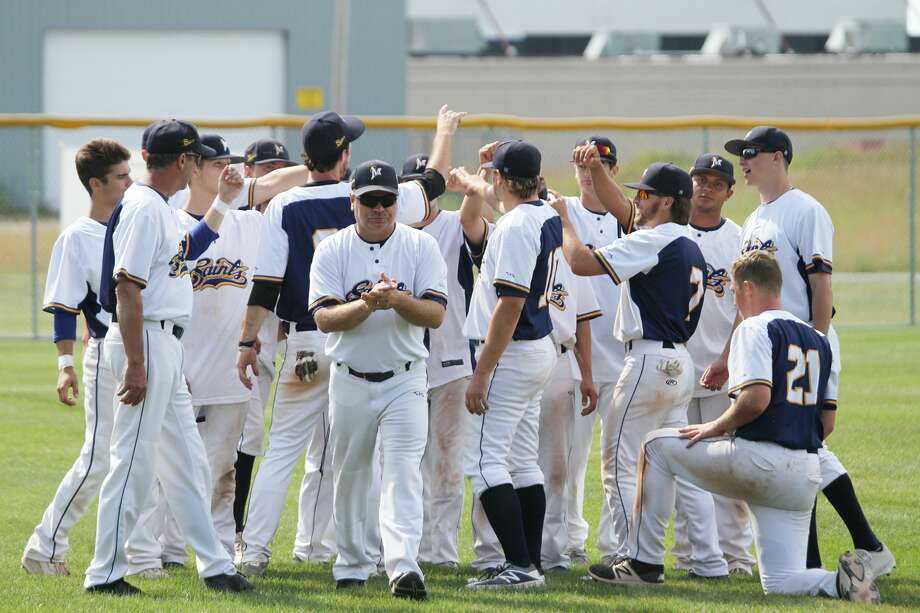 Tyrone Collins announced this week he is stepping down as manager of the Manistee Saints. Photo: News Advocate File Photo