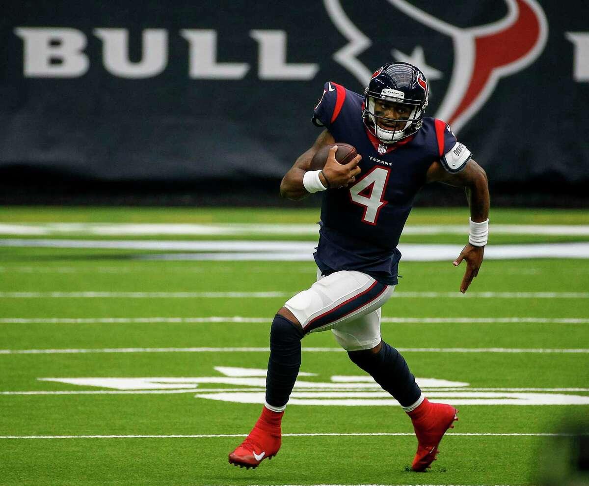 Deshaun Watson wants to keep looking ahead as Texans change coaches.