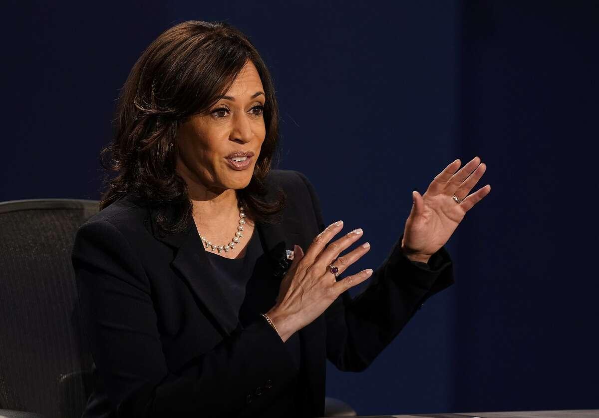 Democratic candidate Sen. Kamala Harris