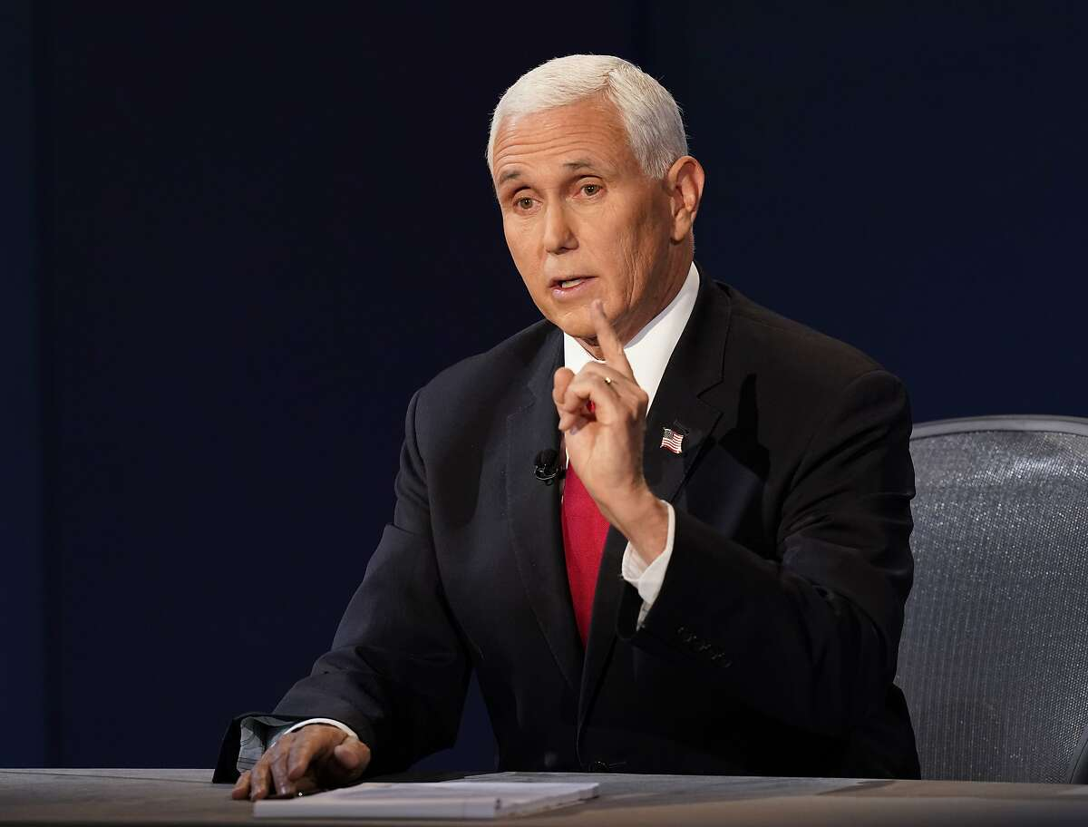 Republican Vice President Mike Pence