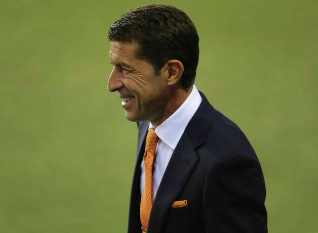 Houston Dynamo head coach Tab Ramos is photographed before the MLS match against the FC DallasWednesday, Oct. 7, 2020, at BBVA Stadium in Houston. Photo: Yi-Chin Lee, Staff Photographer / © 2020 Houston Chronicle