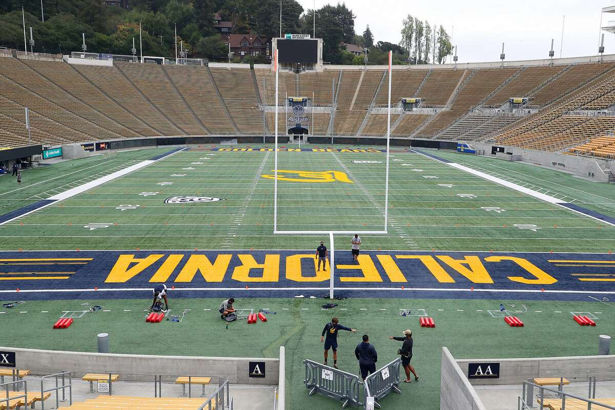 The football stadium at Cal on Sept. 26.