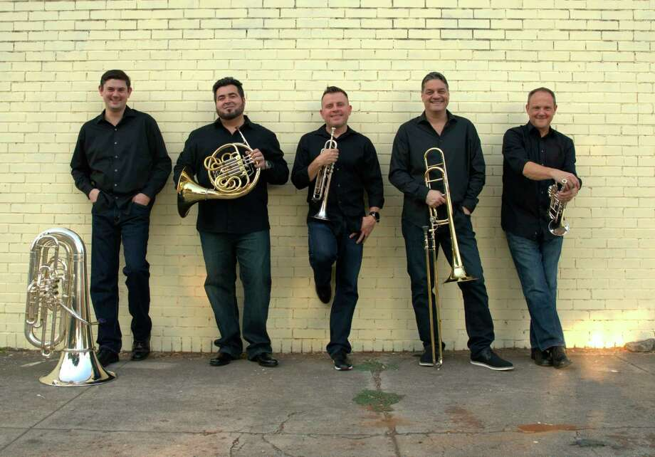 """With over 35 years of international touring behind them, Boston Brass offers anartistically entertaining """"something-for-everyone"""" program featuring familiar classicalworks, to popular jazz standards, all delivered with the ensemble's signature audienceinteraction and charming rapport.(Courtesy photo/Allison Bridger)"""