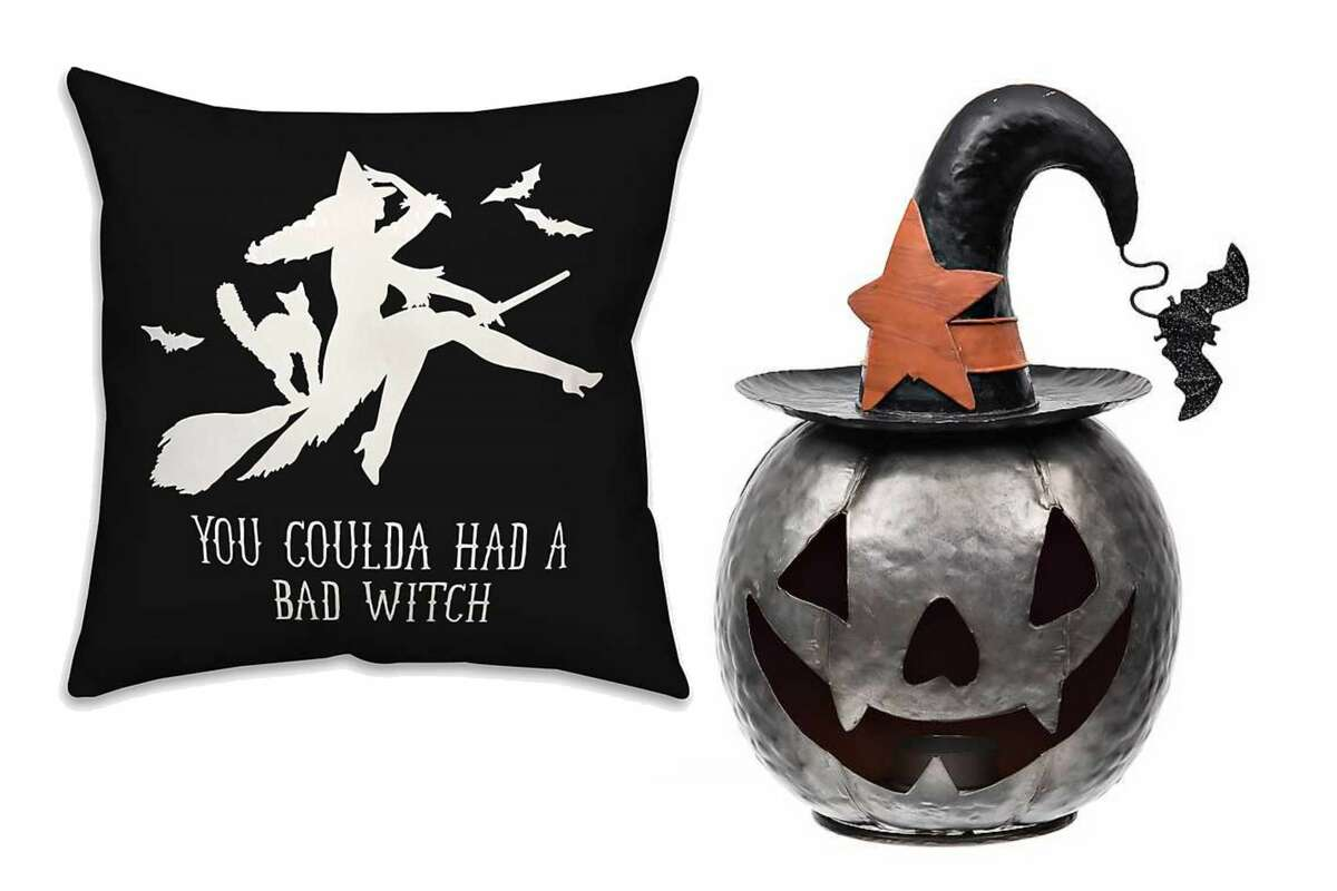 Halloween home decor is up to 50% off at Kirklands.