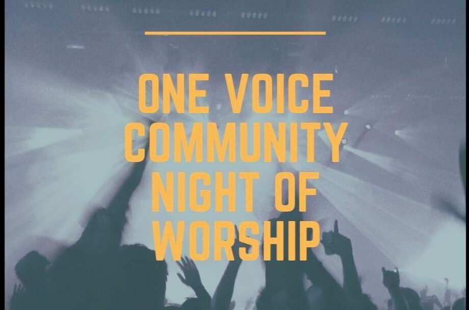 Saturday, Oct. 10: Worship team members from Christian Celebration Center and Living Word Church will lead an evening of worship from 5 to 7:30 p.m. at Central Park band shell in Midland. (Photo provided/One Voice Community Night of Worship)