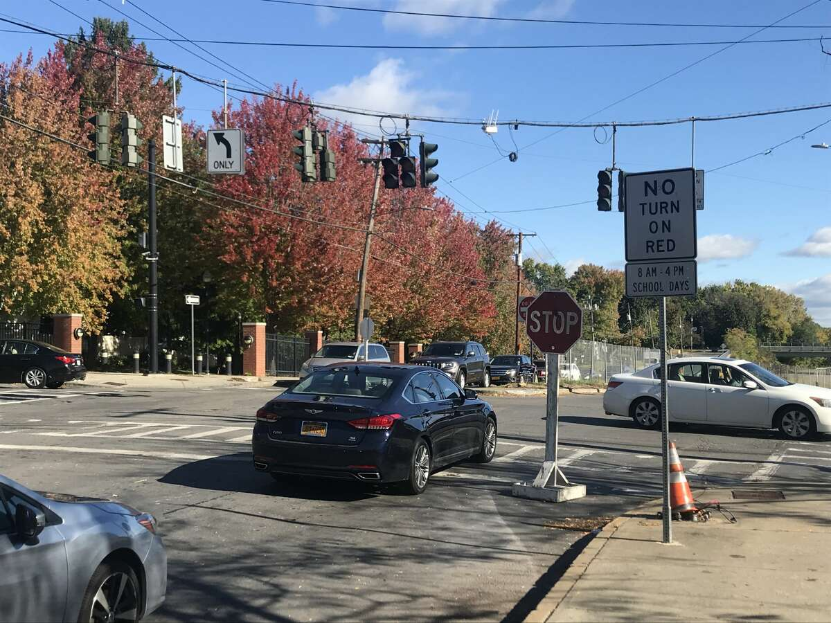 Traffic lights are out at this Albany intersection on Thursday morning Oct. 8, 2020
