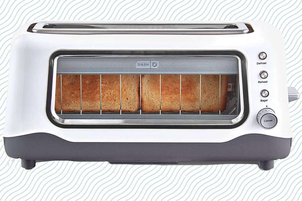 Dash Clear View Toaster, $33.99 (clip the $6 coupon on page) at Amazon