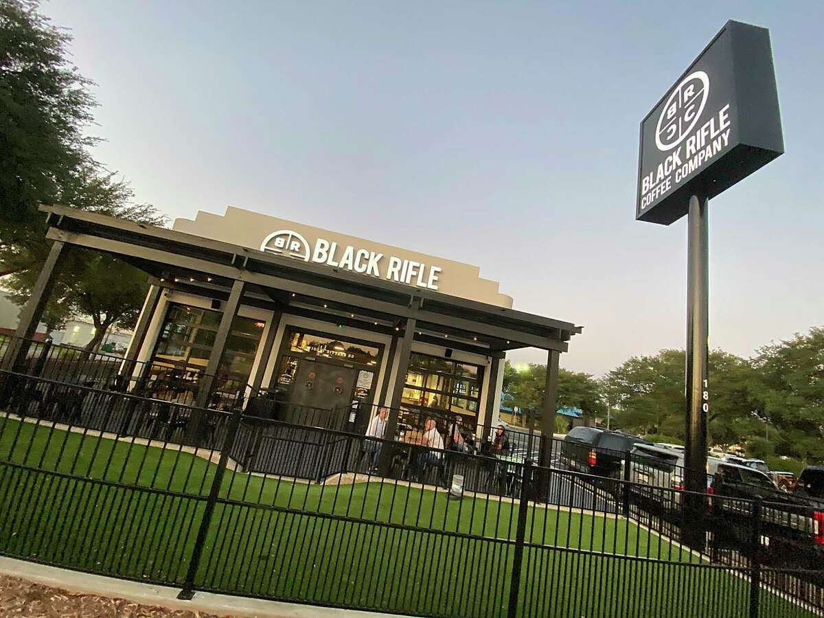 Black Rifle Coffee Co. on Bitters Road is among the new crop of coffee shops that have opened in San Antonio since the COVID-19 pandemic started.