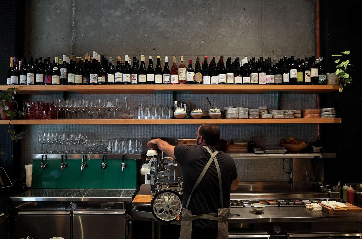 Chef Stuart Brioza prepares to open his newest San Francisco restaurant with a menu focused on seafood, the Anchovy Bar.