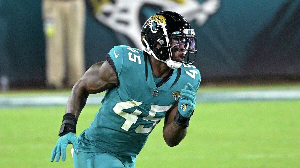 Jaguars rookie defensive end K'Lavon Chaisson has earned plaudits for his play during the early part of this season.