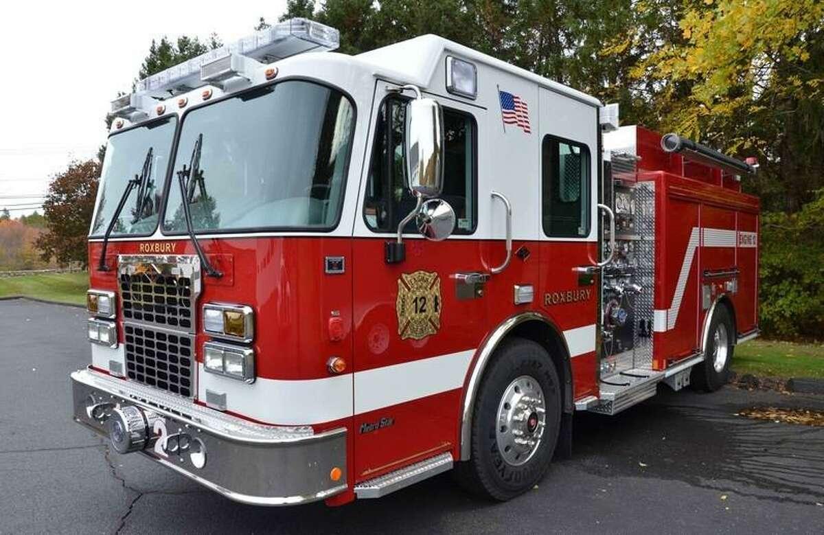 Roxbury Fire Department's Engine 12.