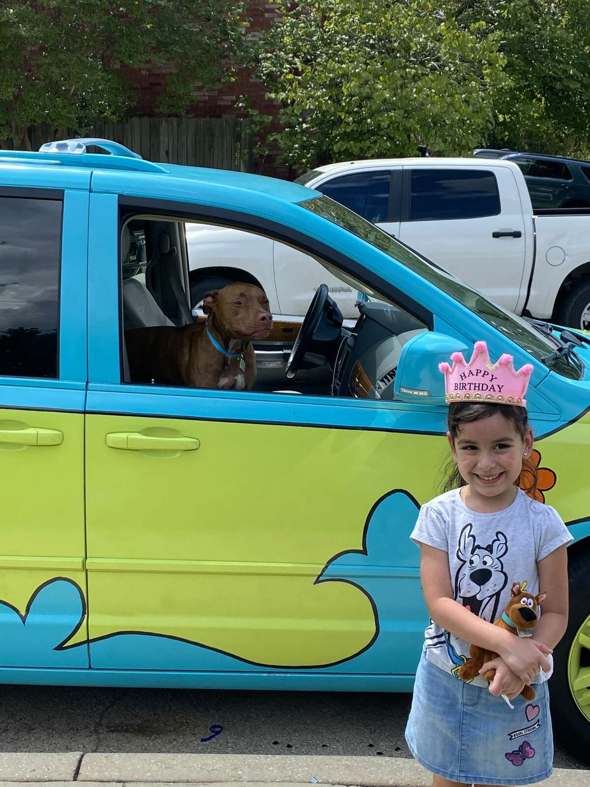 Before Pearson turned it into a little free library, the mother of two said she used her mystery van for birthday parties and corporate events. But, mostly, she said she drove it around to drop her children off at school and run errands.