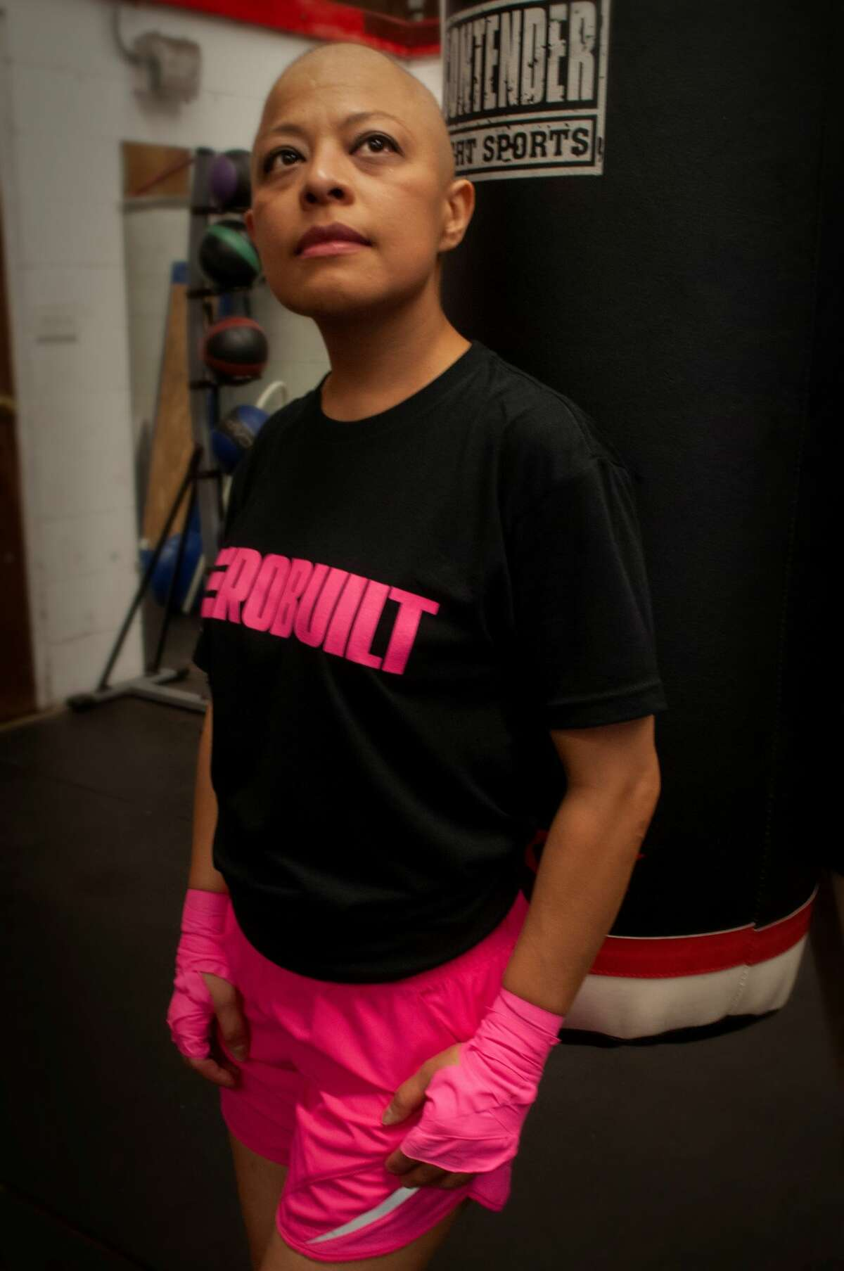 Zulia Mejia was inspired to do this photoshoot with the encouragement of Hector Martinez of Herobuilt.