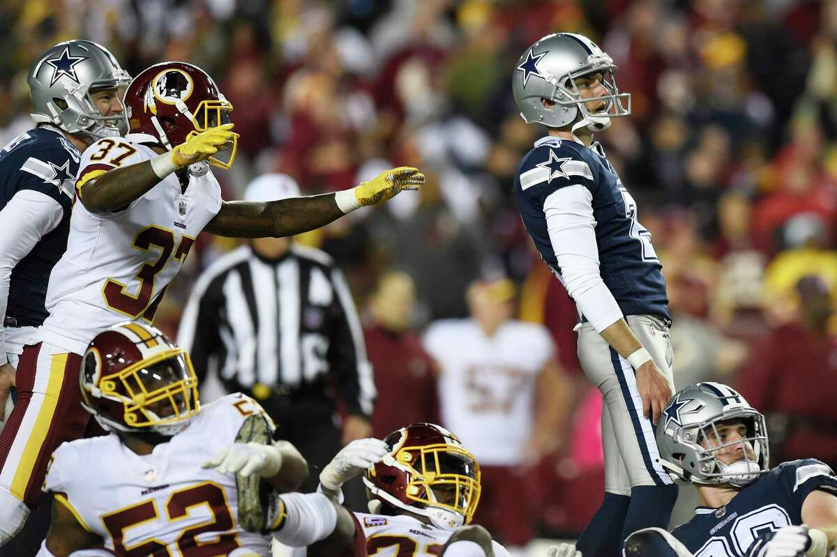 Brett Maher has kicked for the Cowboys and three other NFL teams.