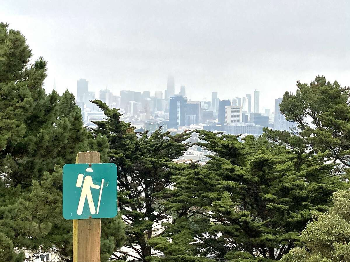 """A view of San Francisco taken during a Peak 2 Peak hike on Oct. 7, 2020, the day Jim Jordan, R-Ohio, said Americans """"don't want their neighborhoods turning into San Francisco."""""""