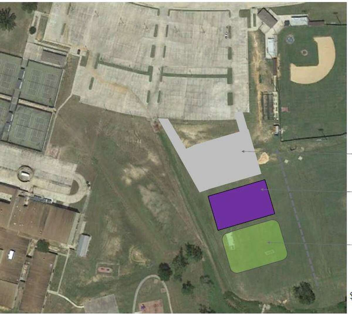 Preliminary designs for projects proposed in the Willis Independent School District's $100 million bond with only one proposition, includes a new pre-k center, a Lynn Lucas addition, and improvements at every campus.
