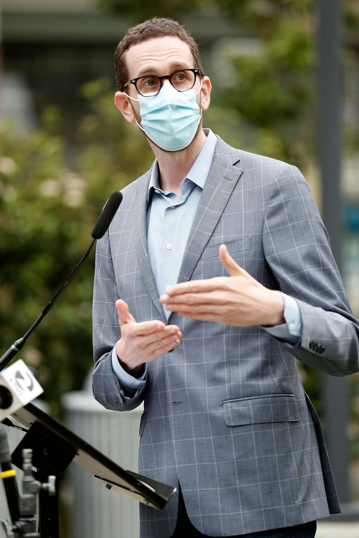 State Sen. Scott Wiener discusses the plan for safe injection sites.