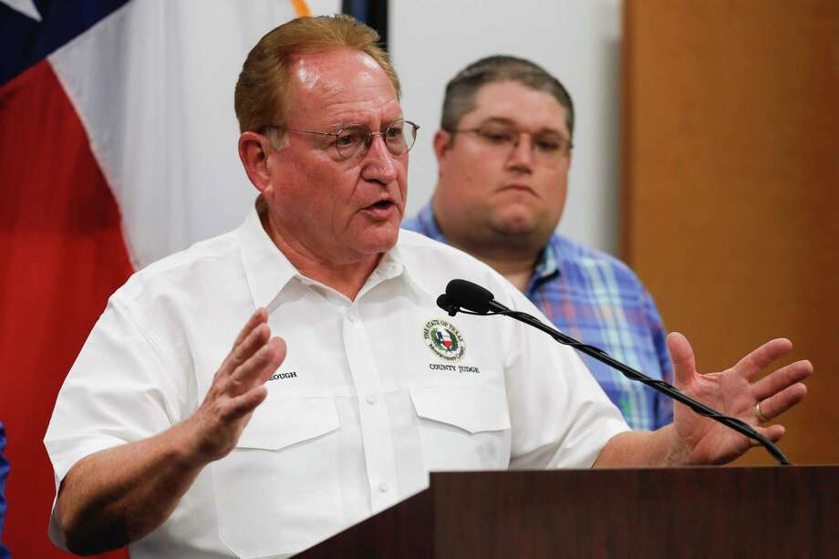 Montgomery County commissioners took action to extend the county's disaster declaration regarding the COVID-19 pandemic as a spike in cases continues locally and statewide. Photo: Jason Fochtman, Houston Chronicle / Staff Photographer / 2020 © Houston Chronicle