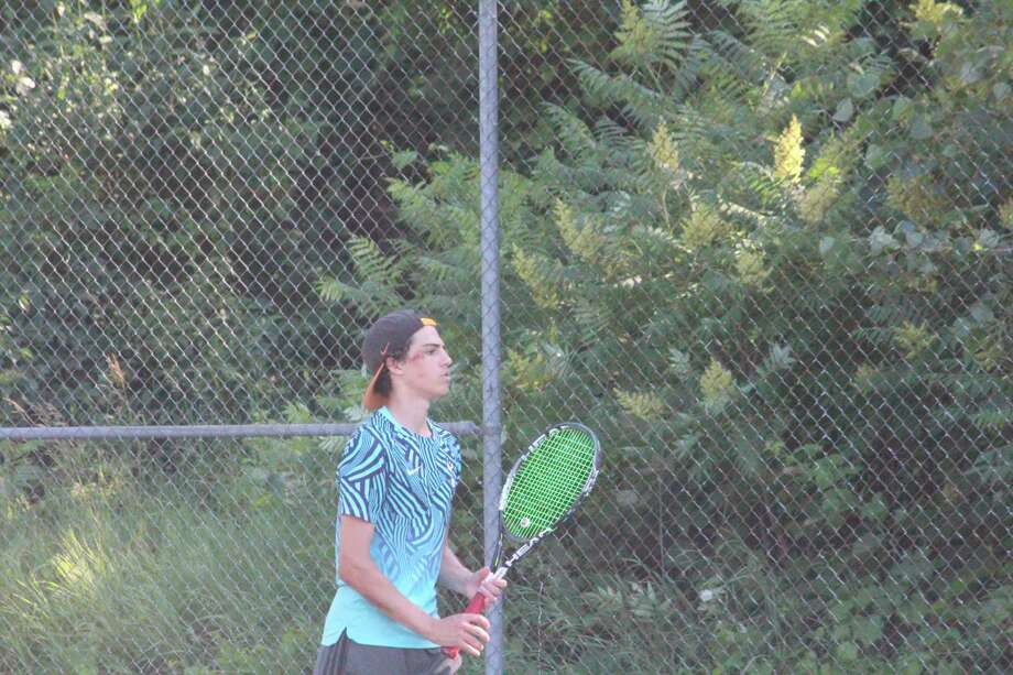 Owen Westerkamp and his Big Rapids tennis team is headed to the state finals. (Pioneer file photo)