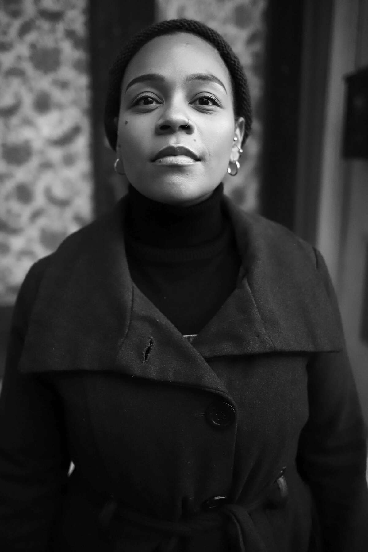 Angelique Powell in Troy Foundry Theatre's world premiere of