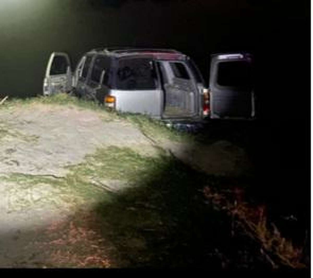 This vehicle drove into the Rio Grande in El Cenizo to avoid apprehension. Authorities seized approximately 300.16 pounds that had an estimated street value of $240,124.