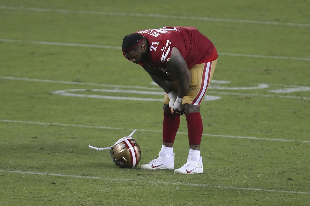 Trent Williams, a seven-time Pro Bowl tackle, would like to have a few plays back after Sunday's 25-20 loss to Philadelphia.