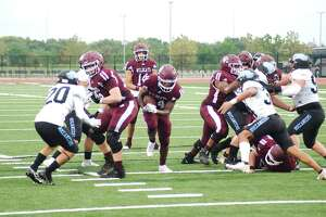 Clear Creek's offensive line will have to create openings for its playmakers if the Wildcats are to have success against Clear Springs' stingy defense.