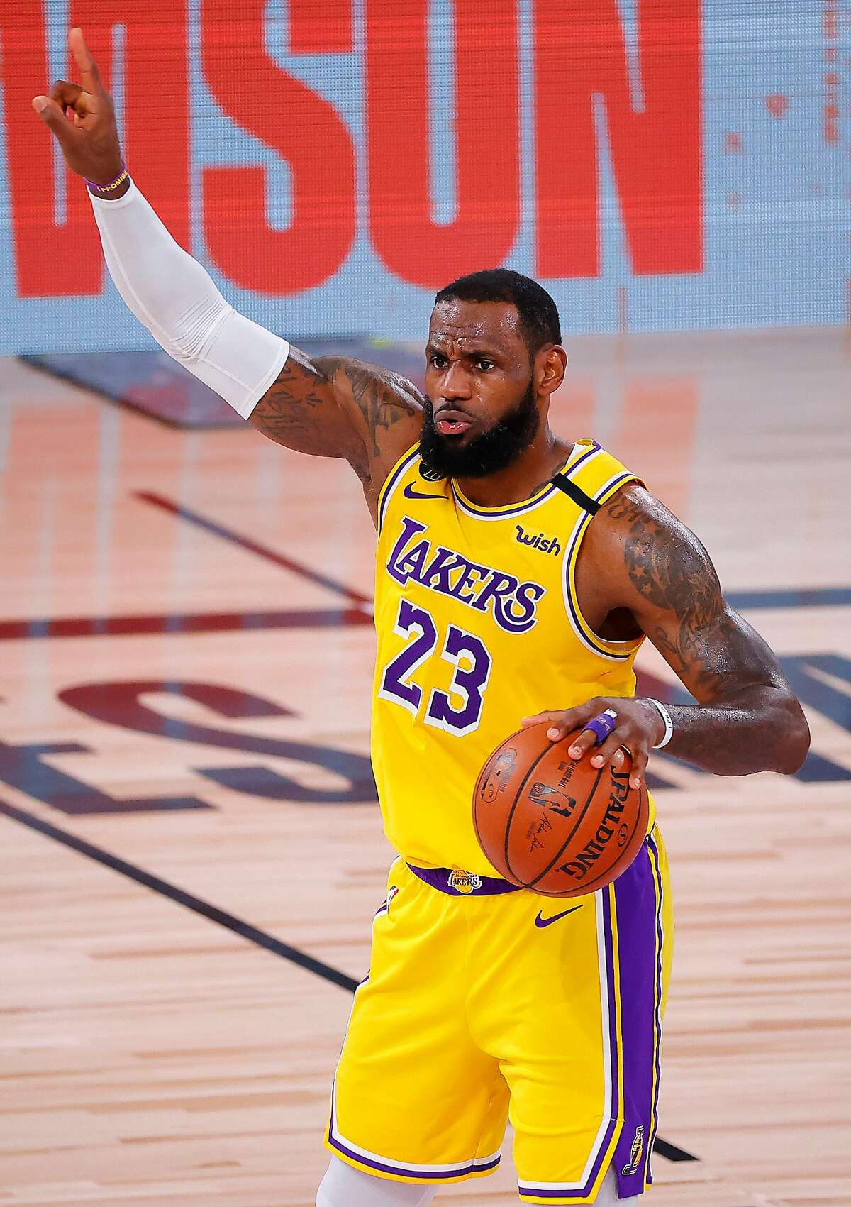 LeBron James can impress L.A. fans one way: win a title.