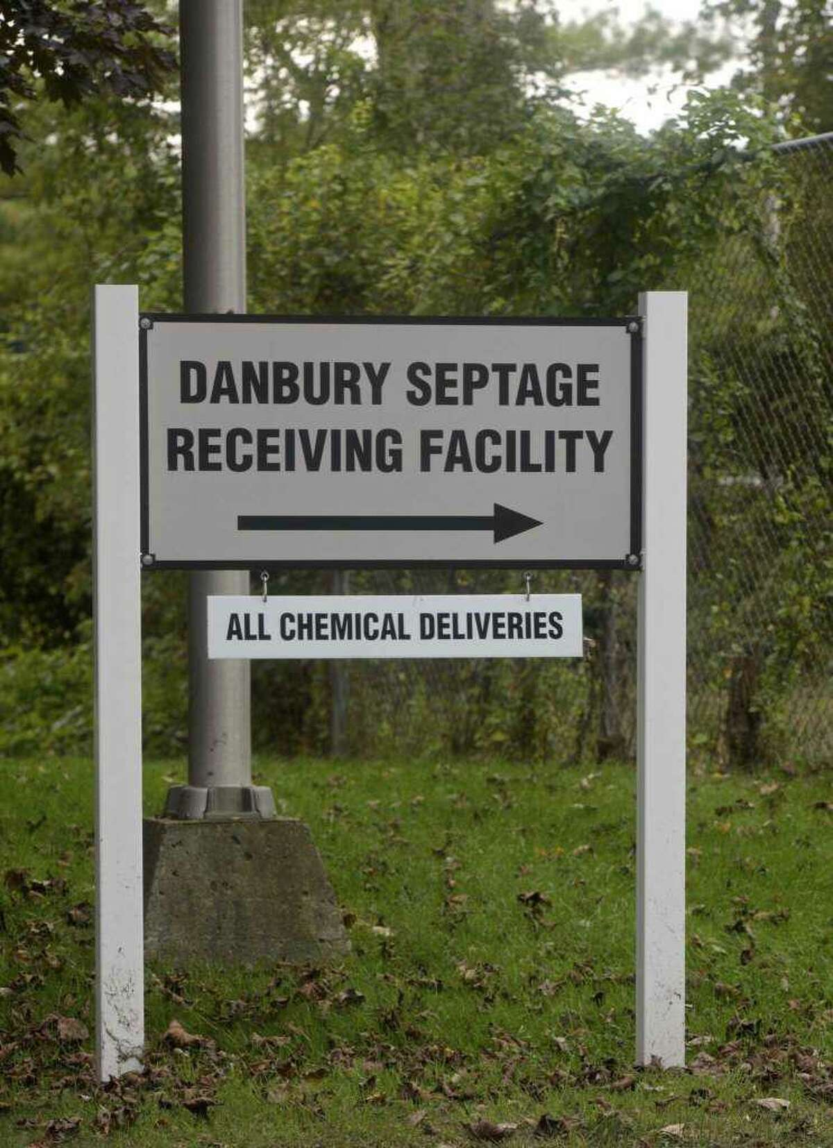"""The sign at the wastewater treatment facility may need to change since the facility is being renamed the """"John Oliver Memorial Sewer Plant."""""""