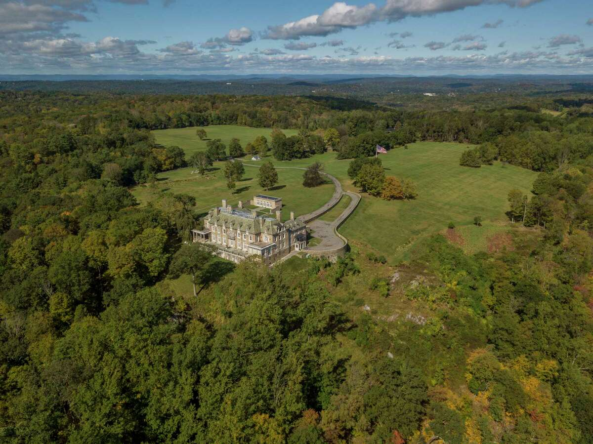 President Trump's Seven Springs estate covers 212 acres, including rolling woodlands that spread over three Westchester county towns.