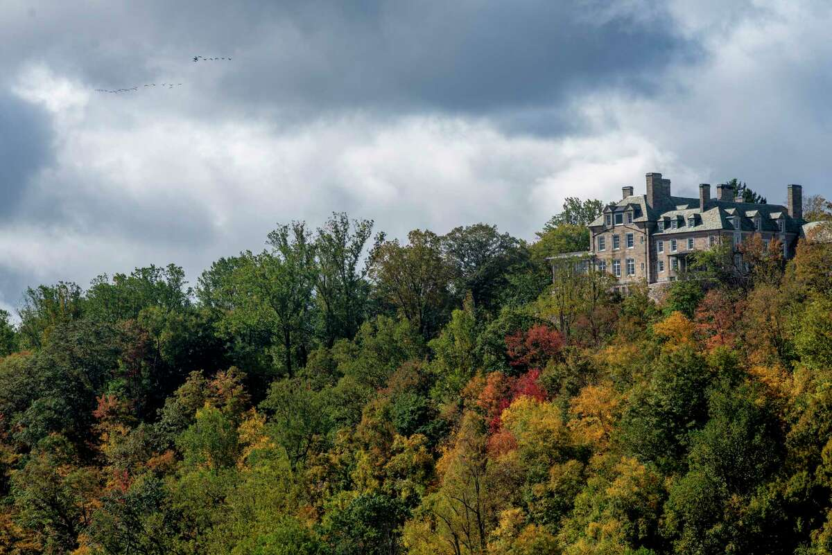 President Trump received a tax break of $21.1 million for promising to preserve 150 acres of the estate's woodlands, based off a 2016 appraisal that valued Seven Springs at $56.5 million.
