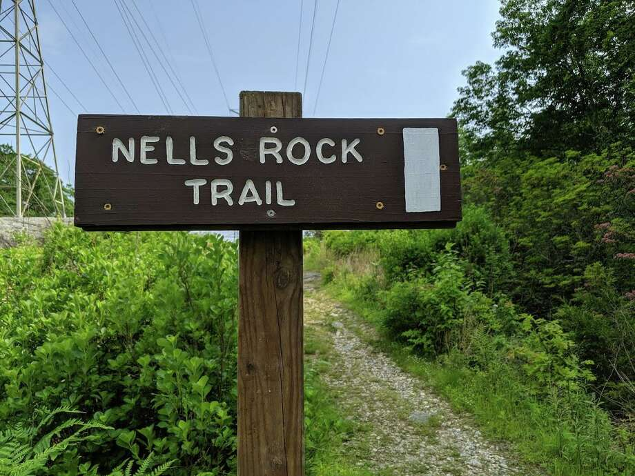 The Shelton Trails Committee is holding a work party to clear back overgrowth on the Nell's Rock Trail and surrounding areas on Saturday, Oct. 10, at 8:30 a.m. Photo: Shelton Trails Committee / Contributed Photo / Connecticut Post