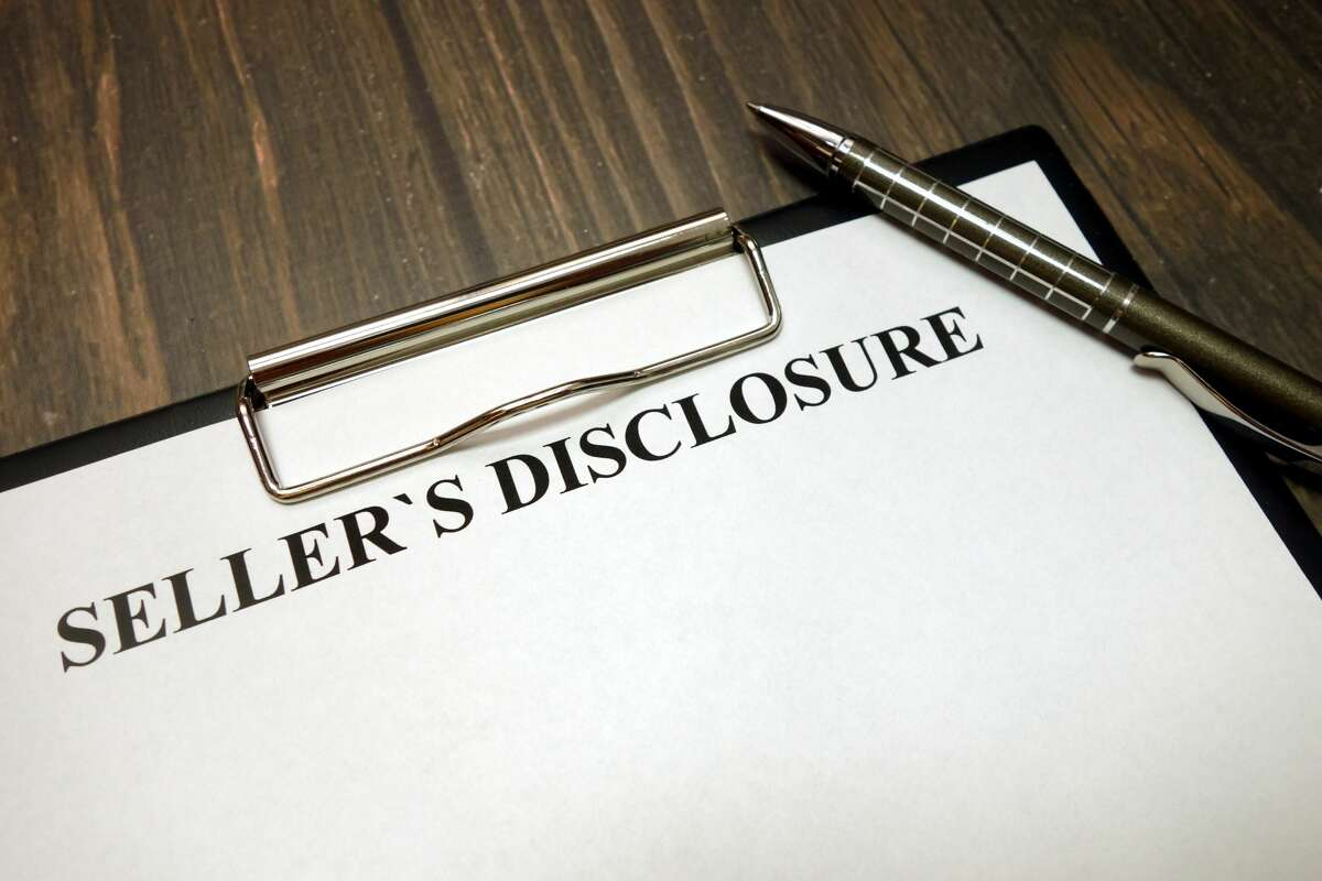 A disclosure form is a notice most residential sellers are required to give potential buyers on or before the effective date of a real estate contract for sale.