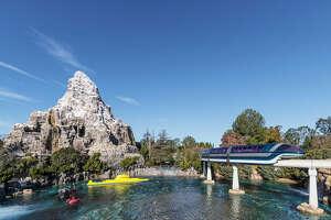 The Matterhorn in Disneyland, Anaheim, California