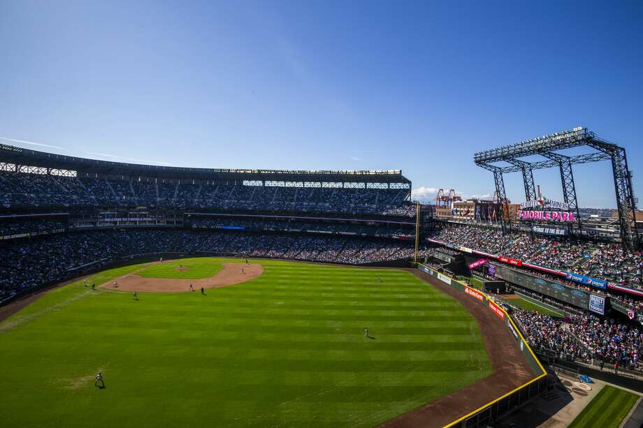 Bremerton native Tim Wilson has been appointed the Director of Grounds at T-Mobile Park, the Seattle Mariners announced this week. Photo: Ben VanHouten/MLB Via Getty Images / 2019 Seattle Mariners