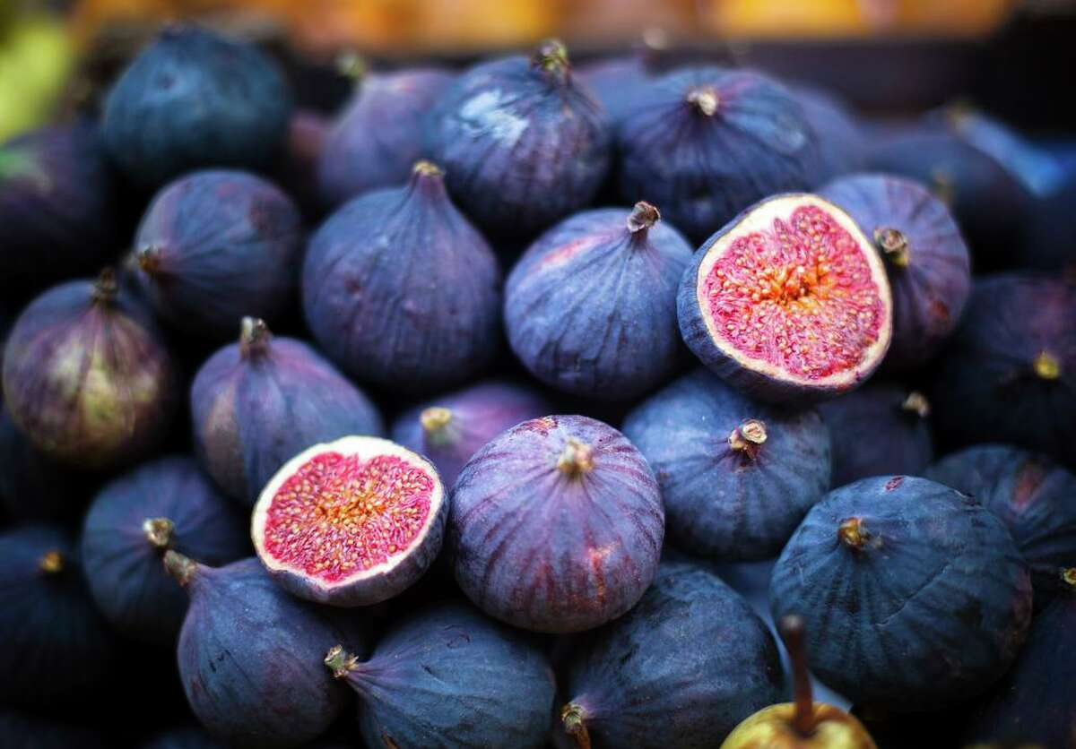 Figs can be used fresh or roasted, cut in half or stuffed with soft cheese.