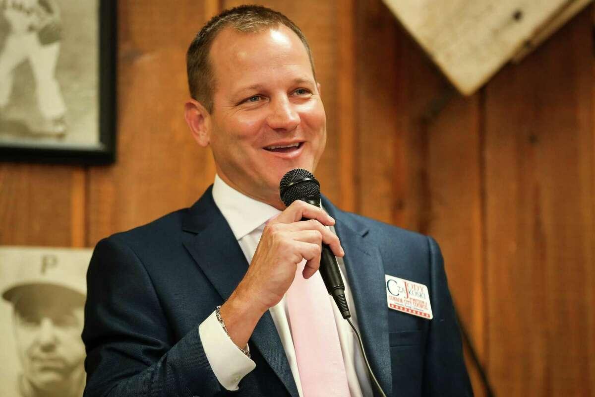 Jody Czajkoski, candidate for Conroe Mayor, is planning a victory on Nov. 3.