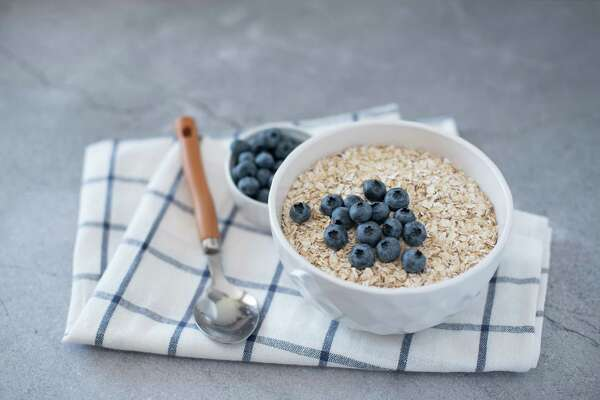 When building your meals, try to choose whole grain or whole wheat carbohydrate sources and include a fist-sized portion of fruits and vegetables, says Emma Willingham.