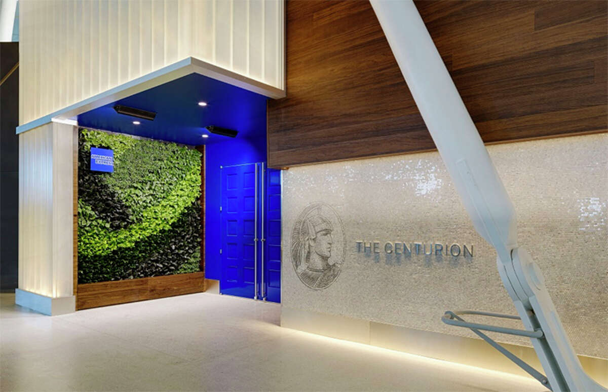 American Express' new Centurion Lounge at New York JFK is its largest yet.