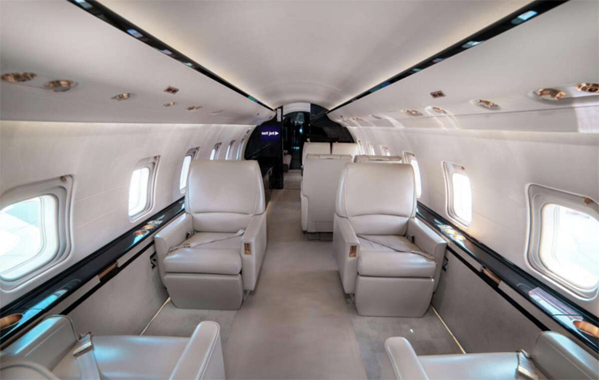 Set Jet will use luxury Bombardier Challenger 850s for its new routes from the Bay Area to southern California and Las Vegas.
