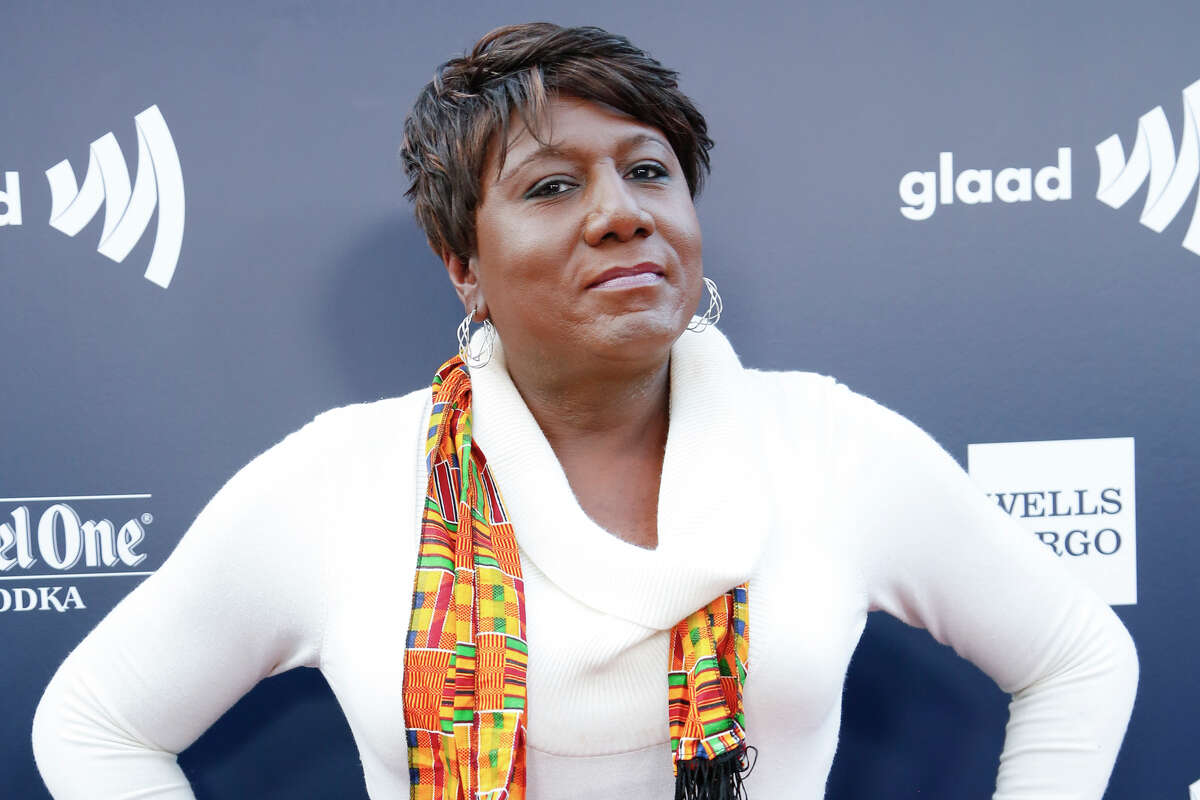 Transgender rights advocate Monica Roberts, who died in Oct. 2020, arrives to the GLAAD Gala at Metreon on September 8, 2016 in San Francisco, California.