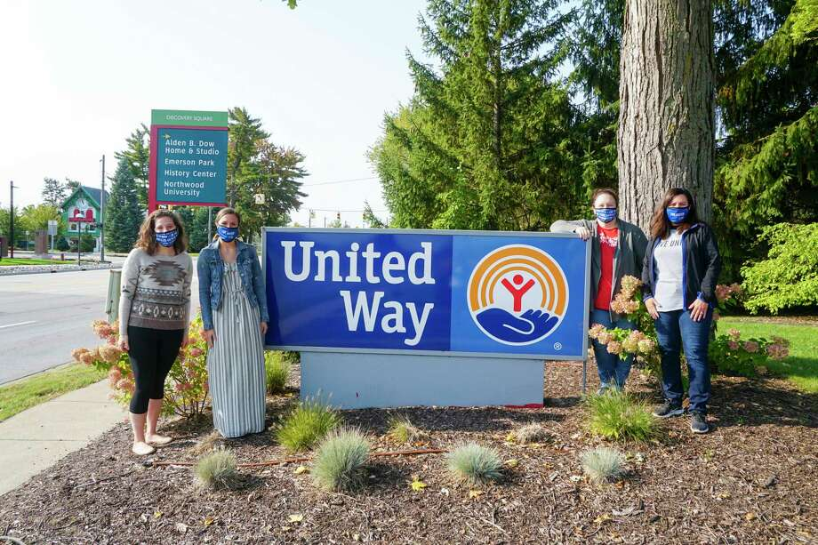 "The face masks are a new addition to this year's campaign. Royal blue in color with the United Way logo and ""Live United"" messaging, the masks also reflect the sign of the times, said Holly Miller, president and CEO of United Way of Midland County. (Photo provided)"