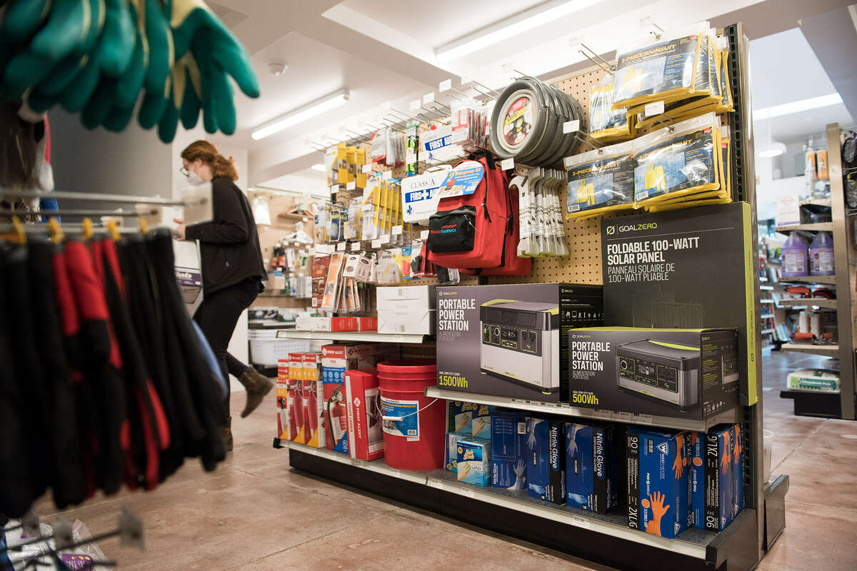 San Francisco's neighborhood hardware stores are weathering the pandemic's challenges, from toilet paper panic-buying to difficulty hiring staff.